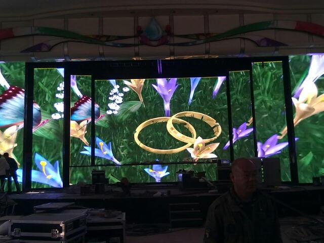 五大连池风景区室内P6LED显示屏